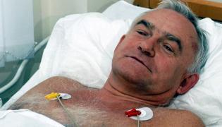 Leszek Miller w szpitalu po katastrofie rządowego śmigłowca Mi-8