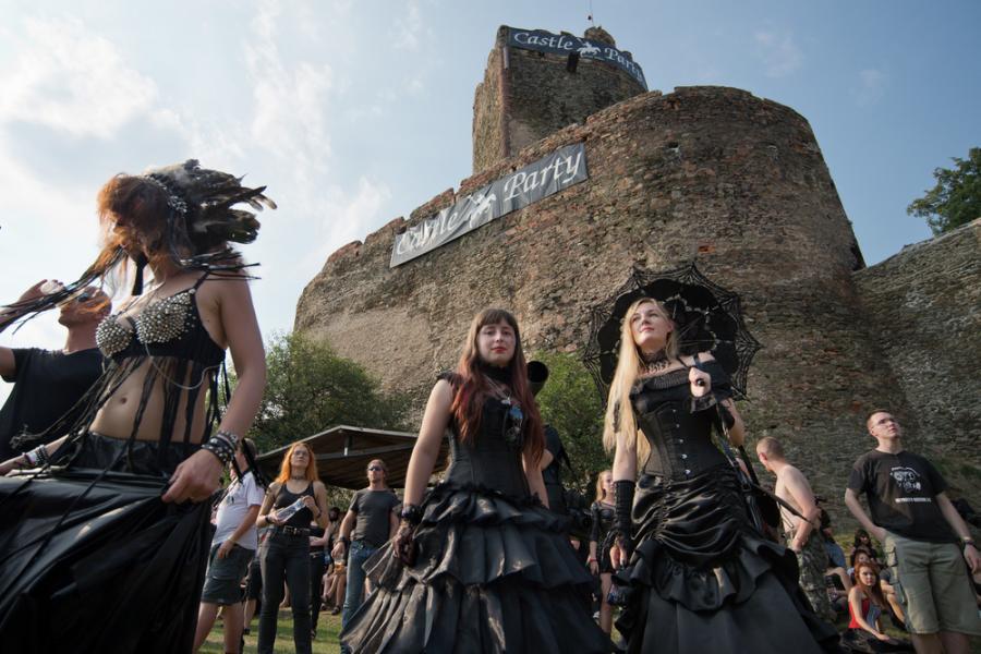 Castle Party w tym roku pomiędzy 13 a 16 lipca 2017 roku