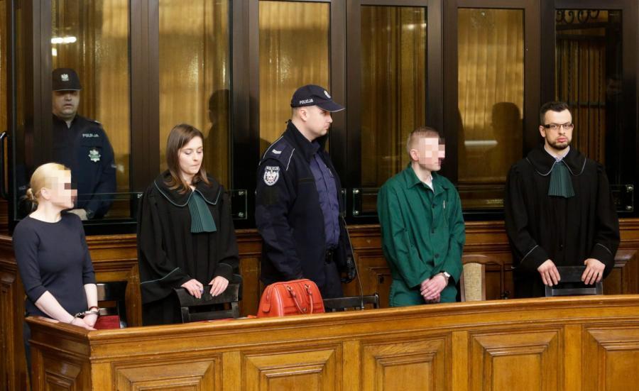 Na ławie oskarżonych  Marcin P. i Katarzyna P.