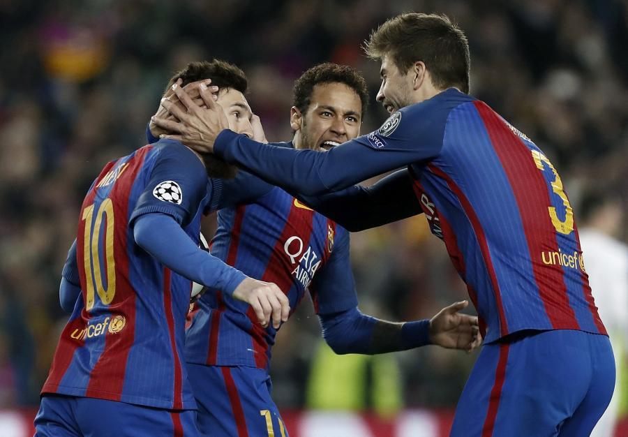 Lionel Messi, Gerard Pique i Neymar