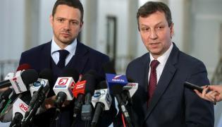 Rafał Trzaskowski i Andrzej Halicki