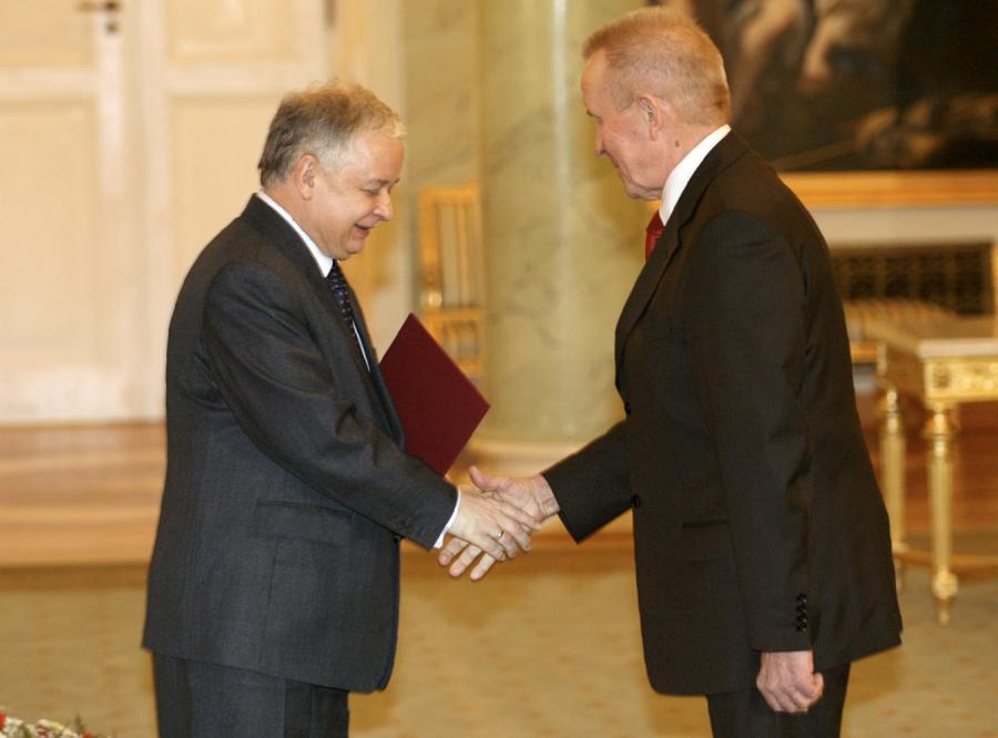 Andrzej Czuma jest już ministrem